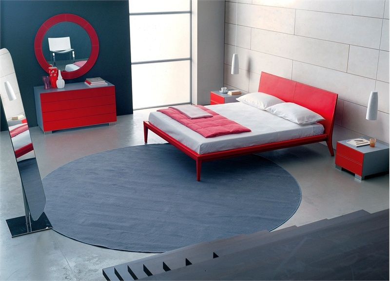 Double bed with a podium maui cattelan italia luxury furniture mr - Characteristics of contemporary platform beds ...