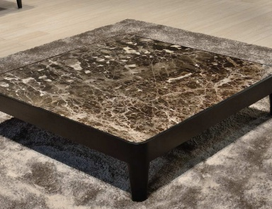 Coffee table with marble top Elliot, CTS Salotti