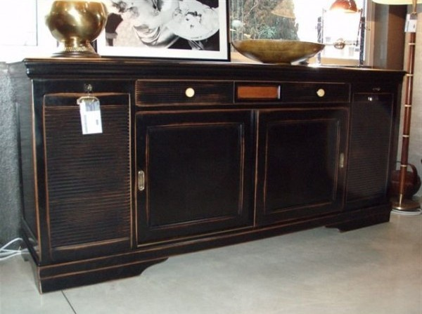 L Origine By La Credenza : Sideboard credenza with sliding doors l origine luxury furniture mr