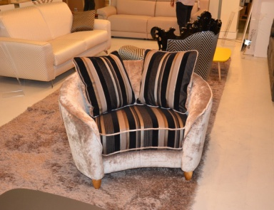 Delta Salotti Sofas With Leather And Fabric Upholstery