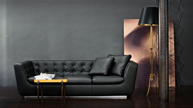 Three-seater sofa Romanza, Gruppo Industriale Busnelli S. p.A.