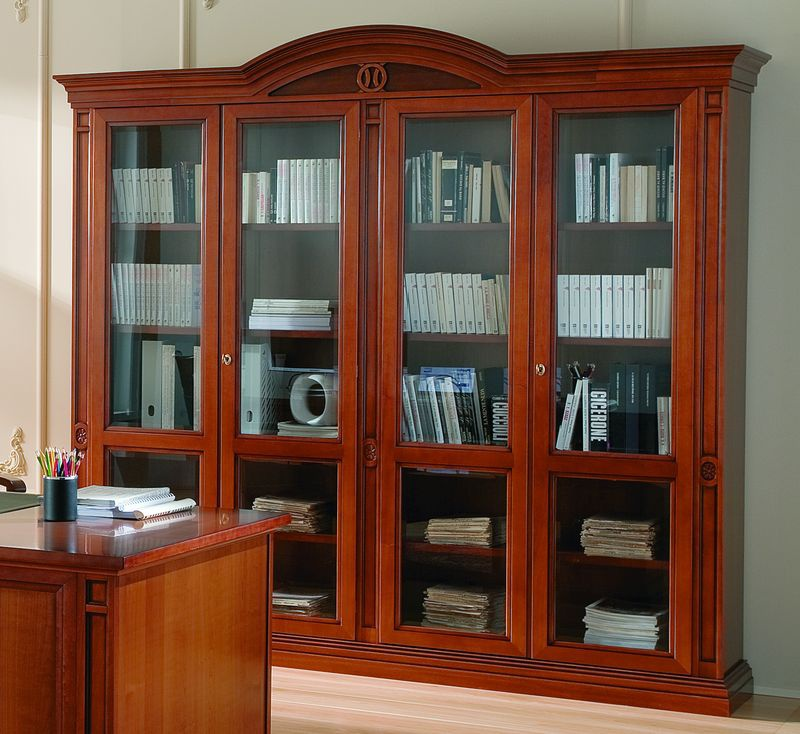 Library in classic style, Nabucco, Maronese