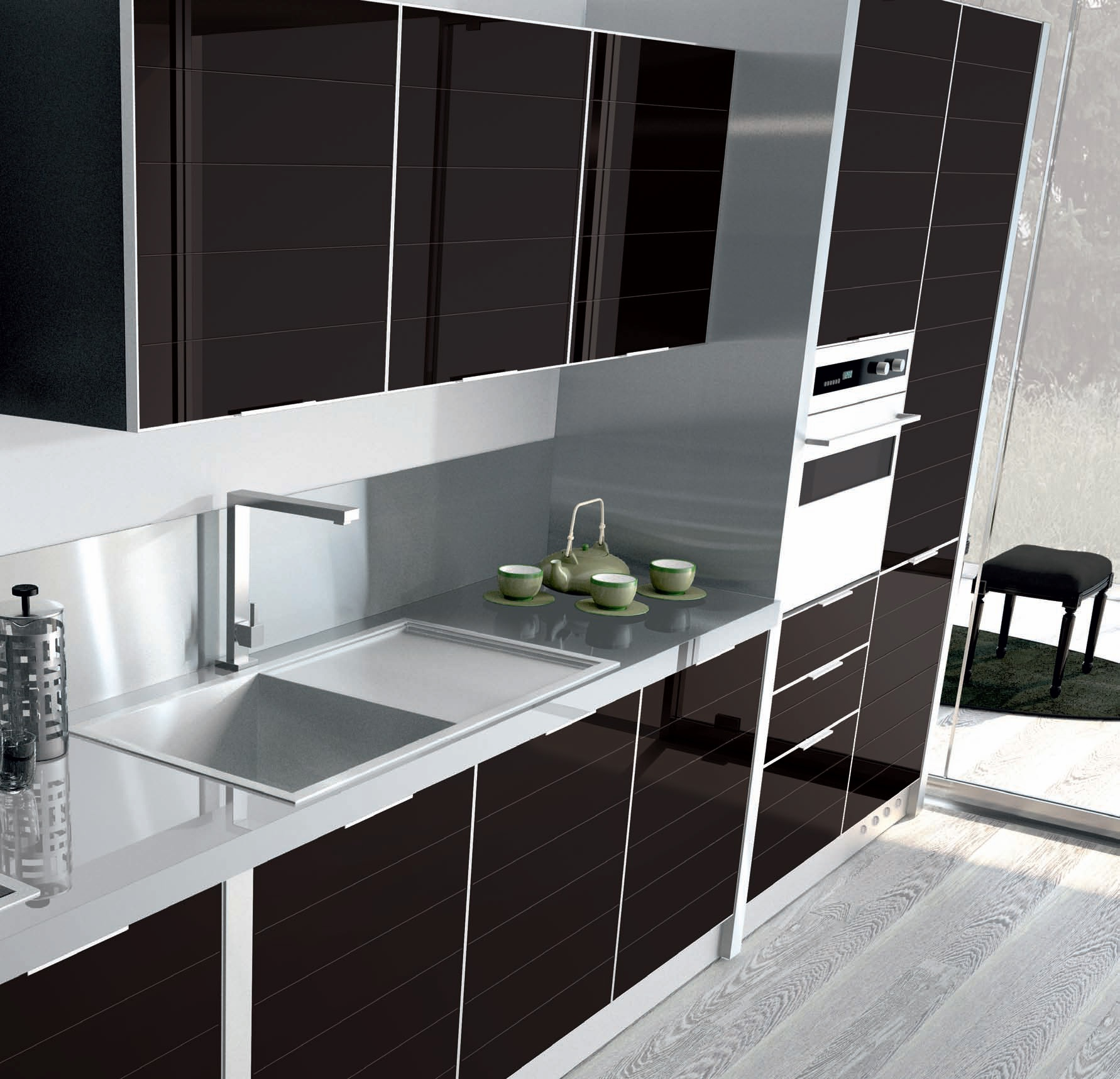 Italian Kitchen Sets Manufacturer: Kitchen Vitra Comp.2 From The Italian Manufacturer Ar-Tre