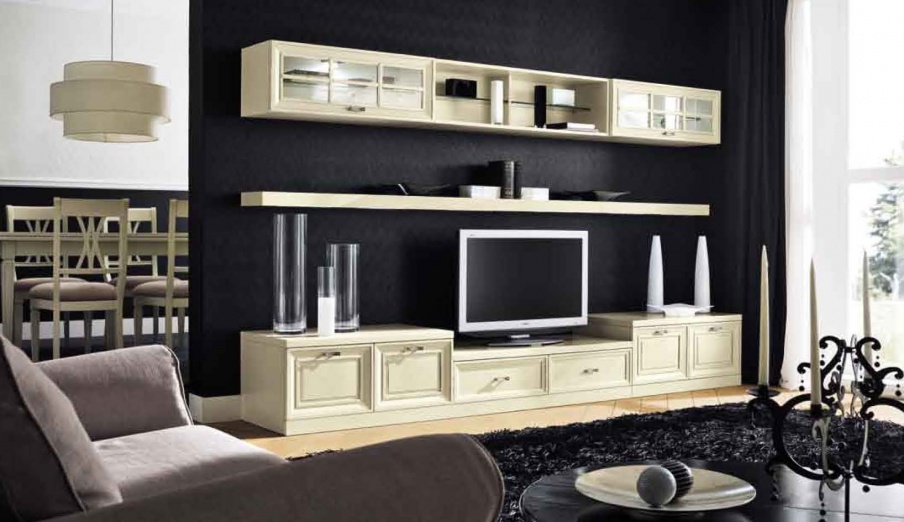 modular system in the classic style of murano maronese