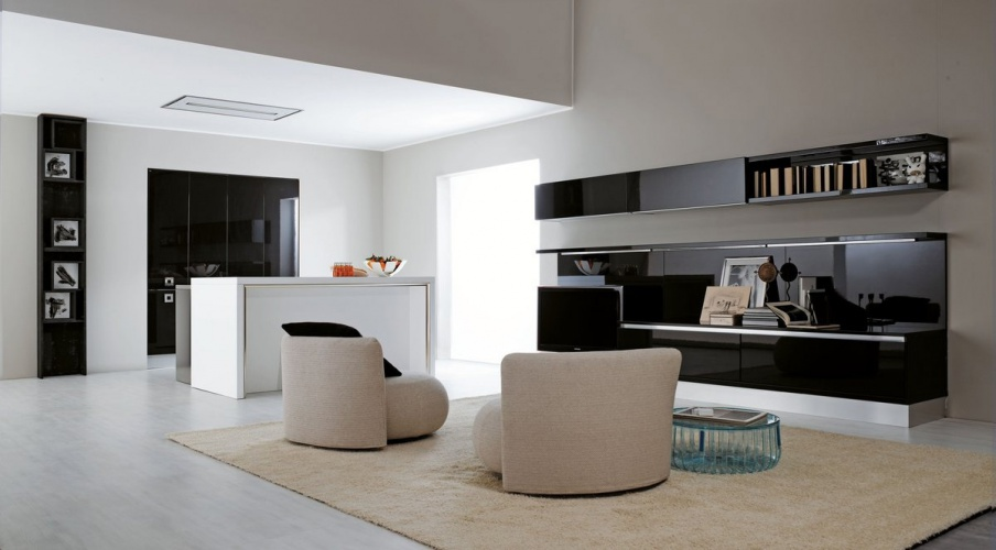 Kitchen (Suite kitchen) natural wood island with Ylenia, Aran Cucine ...