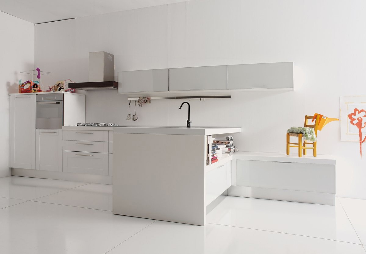 Kitchen kitchen set made of natural wood in the - Aran cucine italy ...