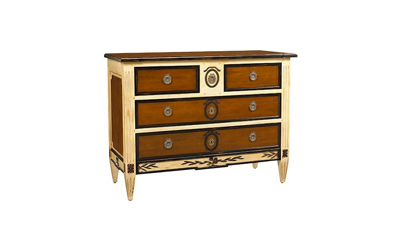 Seizieme Chest Of Drawers In Mahogany, French Heritage Furniture