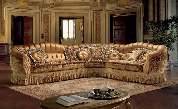 Corner sofa Luxury Lucilla
