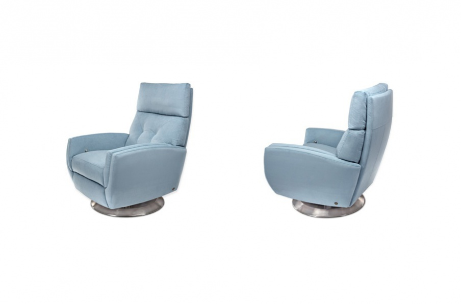 The Gavin Recliner Chair, American Leather