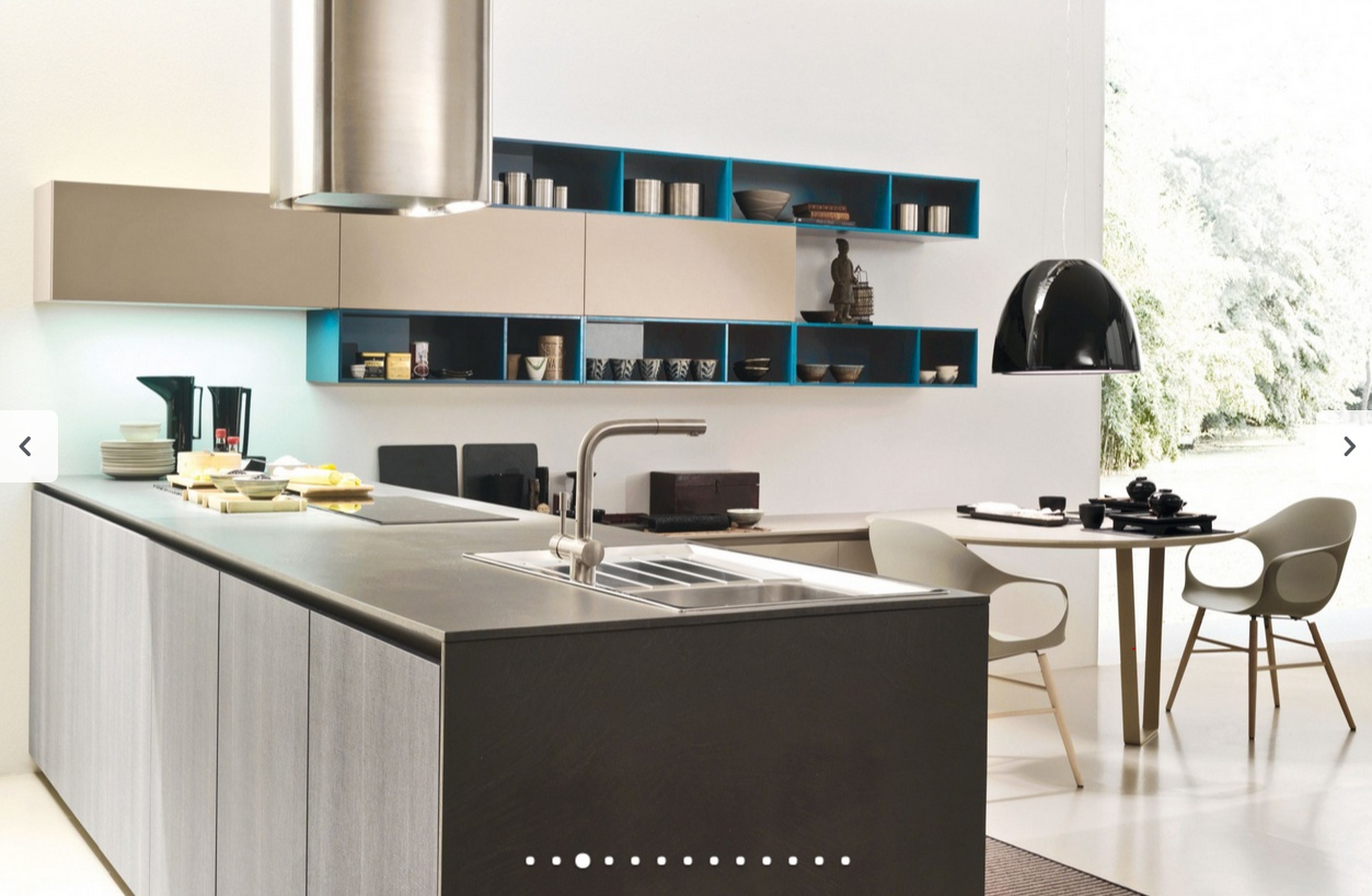 Set for the kitchen in modern style one 4 gola k siloma for Kitchen set modern