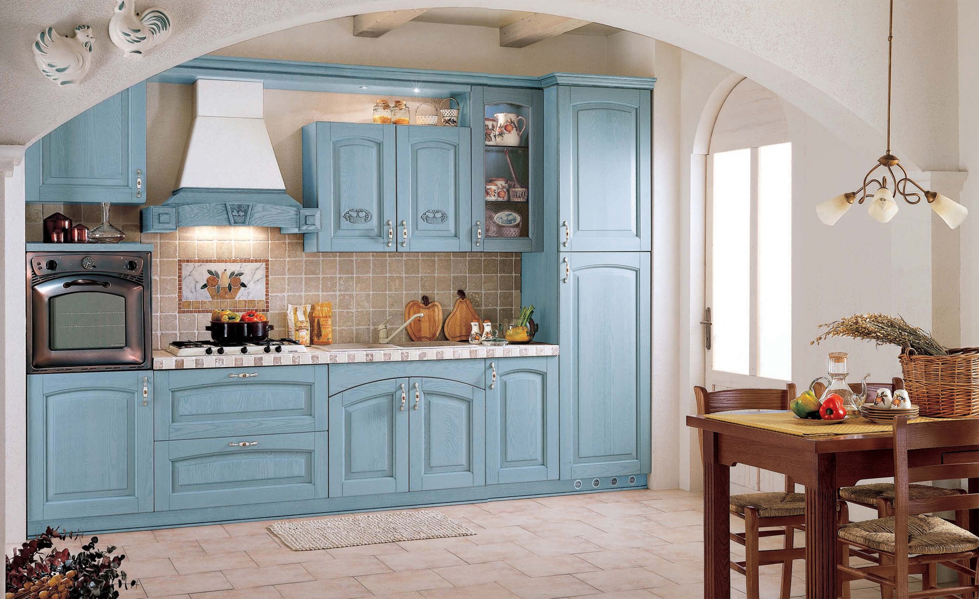 Kitchen Barchessa comp.5 from the Italian manufacturer Ar-Tre ...