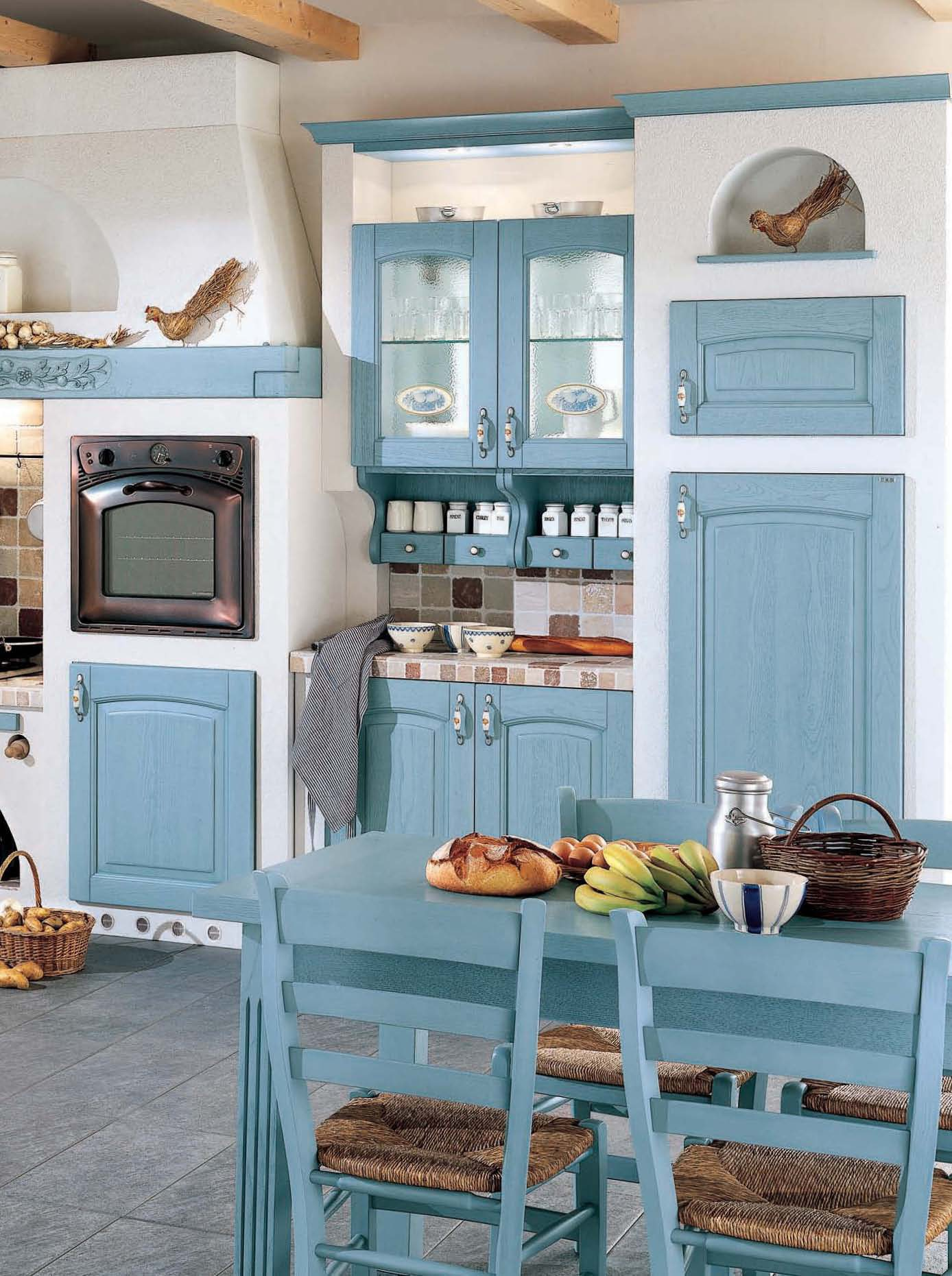 Kitchen Barchessa comp.6 from the Italian manufacturer Ar-Tre ...