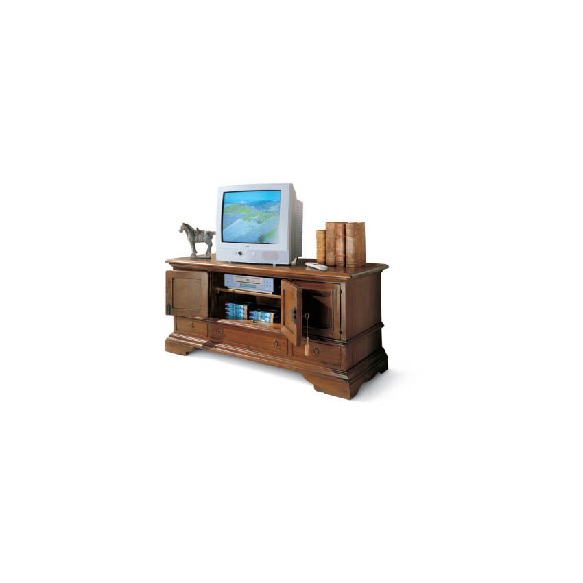 Cabinet with wooden body and metal fittings medicea - Mobili tv vintage ...