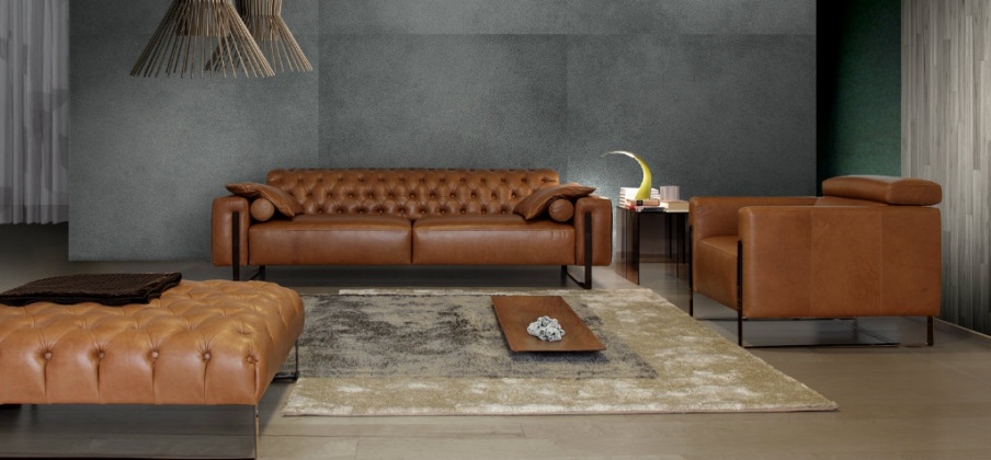 calia sofa sofa set in leather upholstery with sch capito niobe 956 calia thesofa. Black Bedroom Furniture Sets. Home Design Ideas