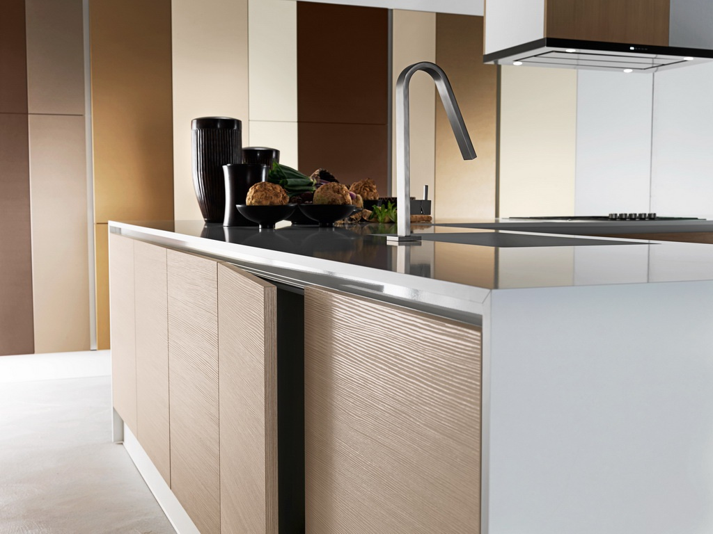 Kitchen kitchen set was made of natural wood moon astra for Kitchen set natural