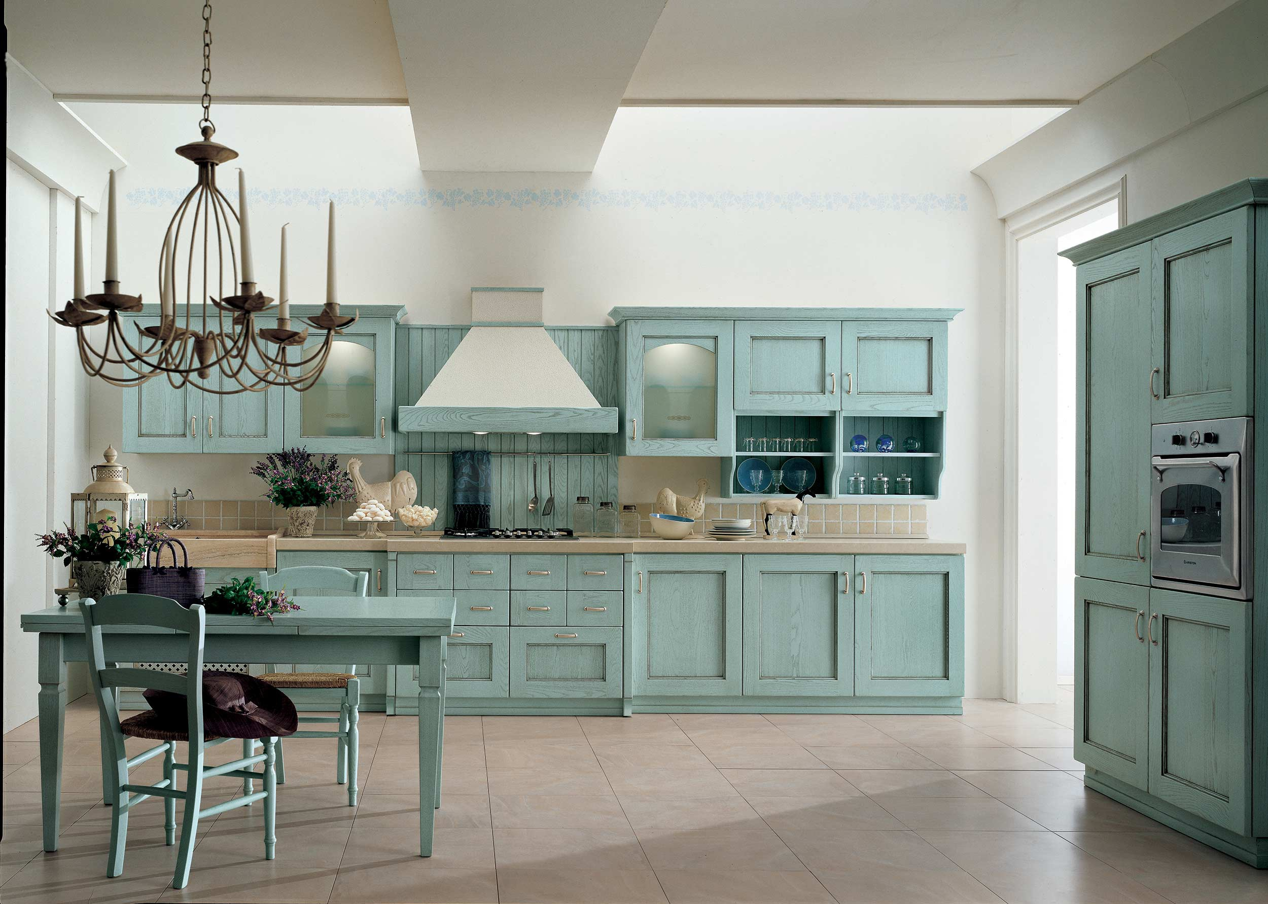 Kitchen (Suite kitchen) of wood Certosa, Stosa - Luxury furniture MR