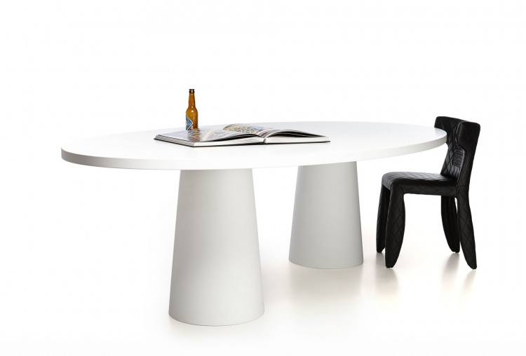 Oval table with Oval Container, Moooi