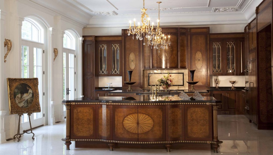 Set For The Kitchen With Carvings And Basreliefs In The Polish - Neff kitchens