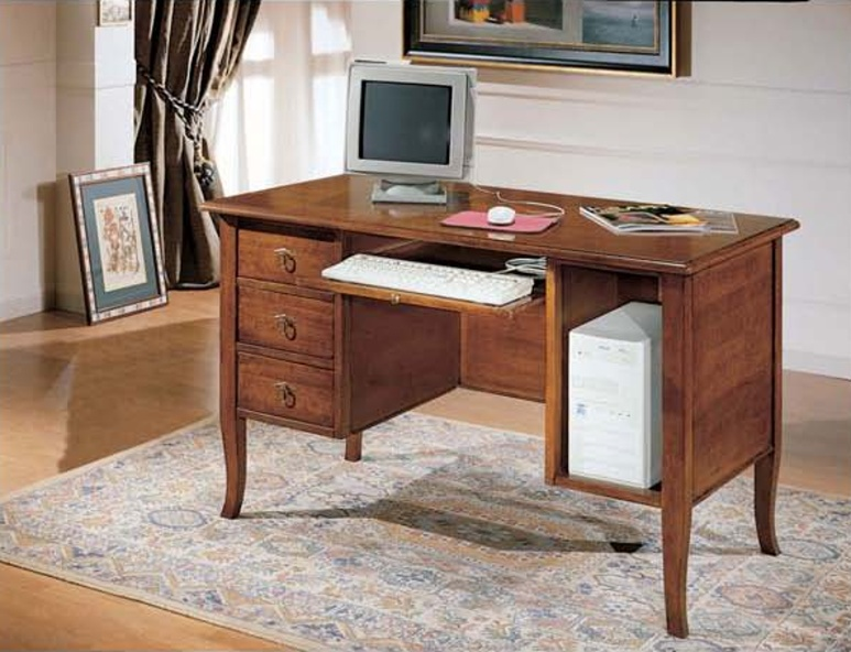 A Desk with space for computer in a classic style, Mirandola Export ...