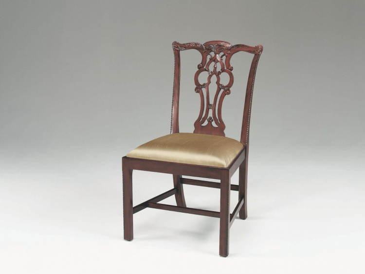 The chair on straight legs, Maitland-Smith