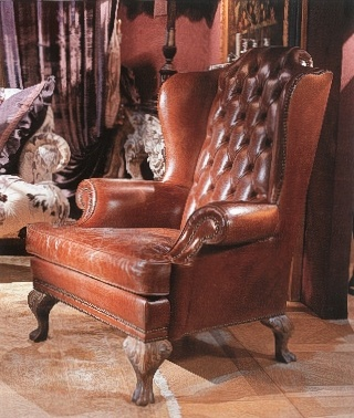 Leather Chair With High Back Provasi Luxury Furniture Mr