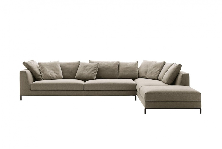 corner sofa ray bb italia bb italy furniture