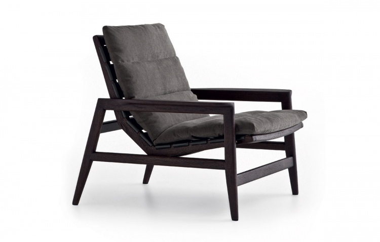 The high-backed chair, Ipanema armchair - Poliform