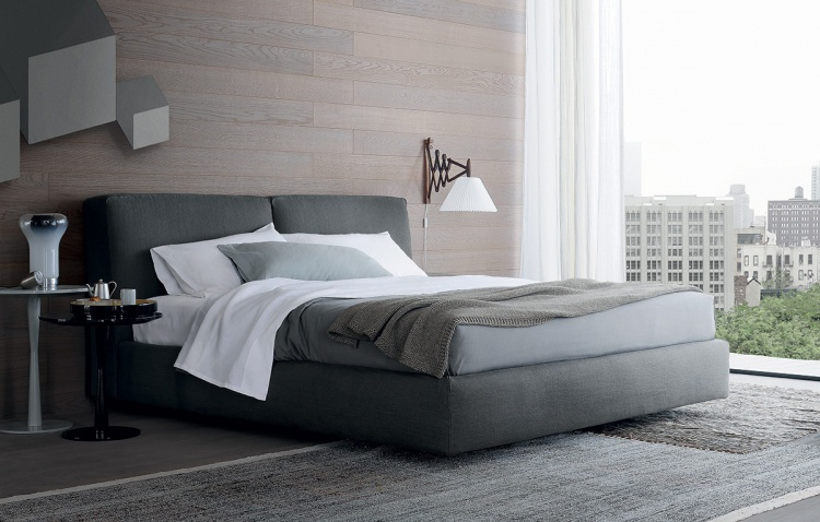 Double bed, Arca Bed - Poliform