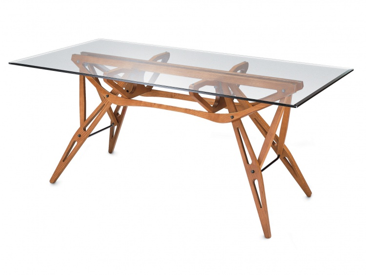 The Reale dining table, Zanotta