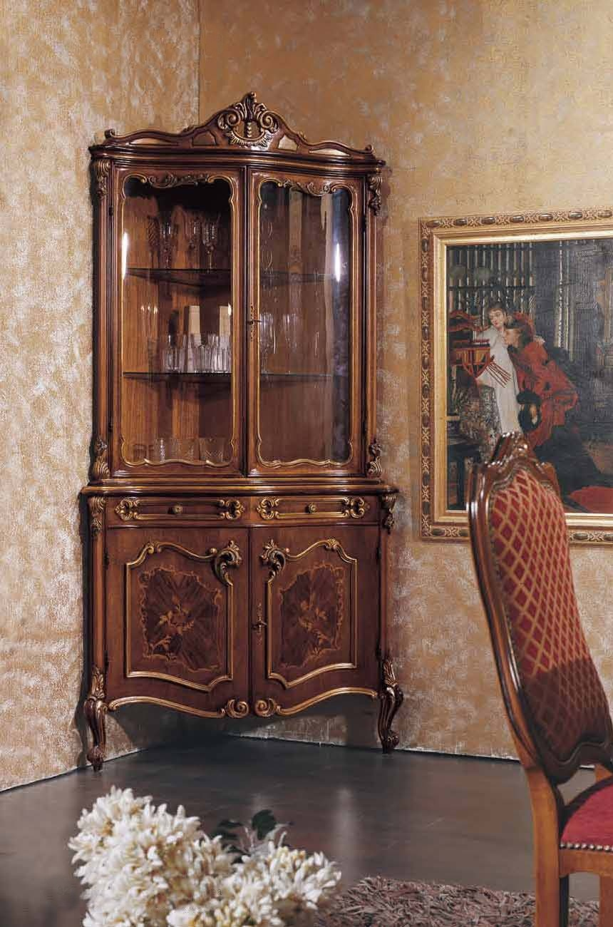 Corner Cabinet With Inlay In A Classic Style, Mirandola