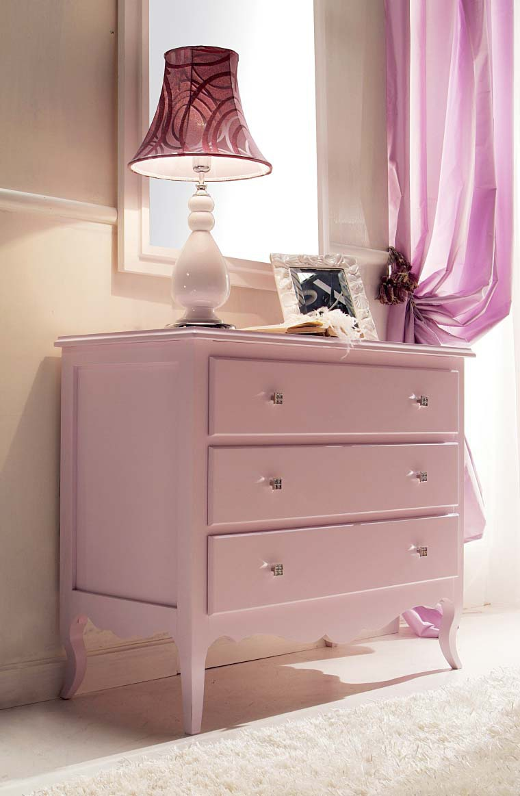 Set for children 39 s bedroom classic in leather and lacquer for S h bedroom gallery