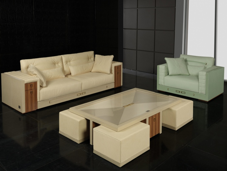 Living room (sofa set) SuitCase, Formitalia