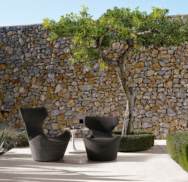 Chair for garden Grande Papilio by B&B Italia