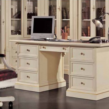 The office (Suite office) with modular corner wardrobe in classic ...