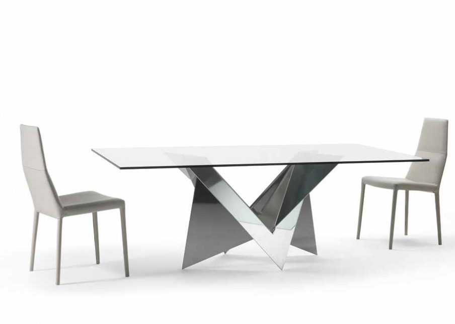 Dining table on metal base Mathematique 72 Reflex Angelo  : 14468150327175w904h3000 from www.luxuryfurnituremr.com size 904 x 644 jpeg 51kB