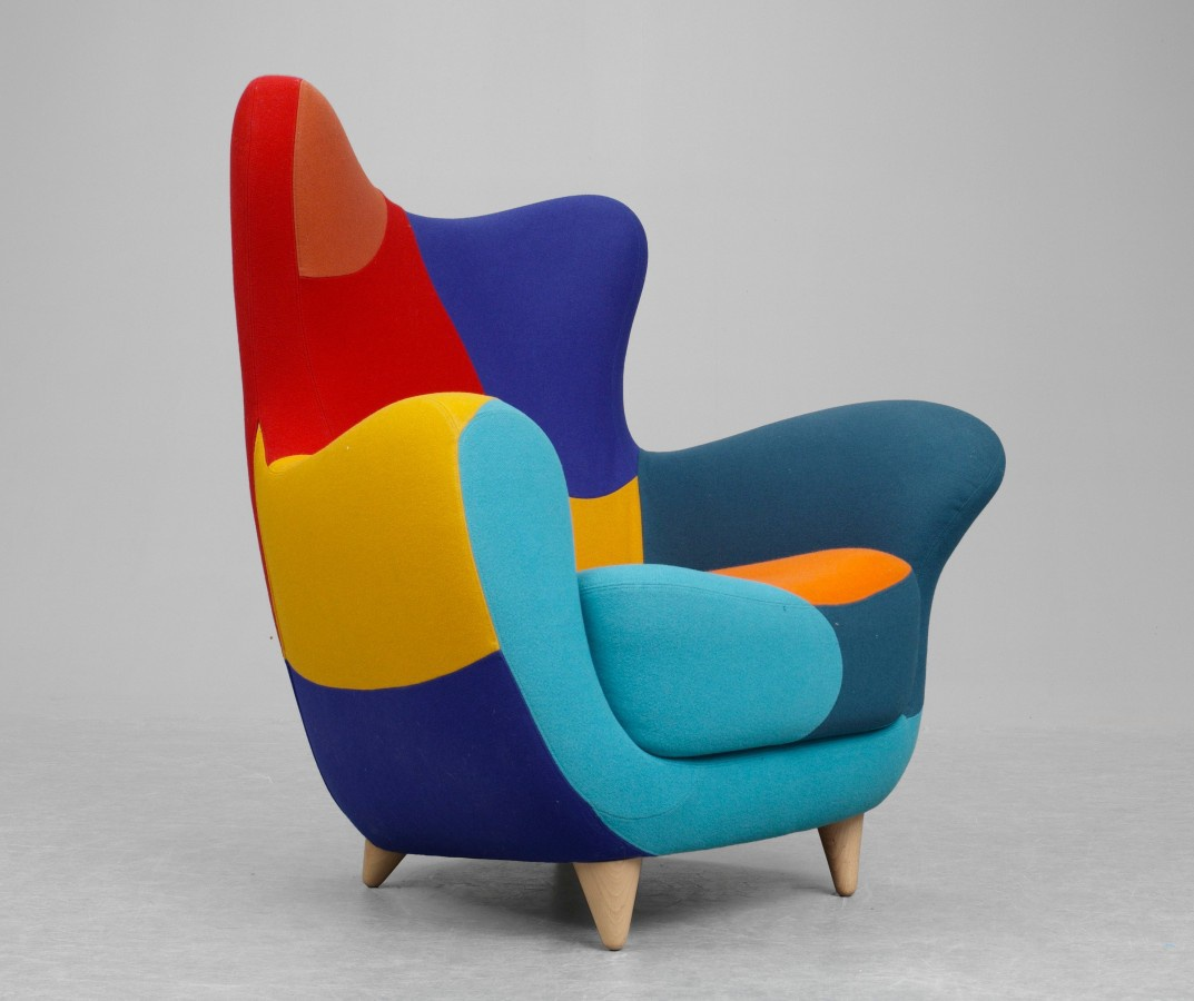 The Original Chair Form And Colors Of Los Muebles Amorosos Moroso  # Rugiano Muebles