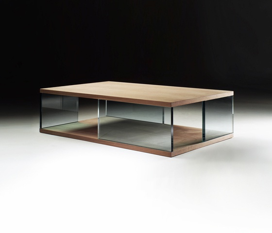 Coffee Table Solid Wood Ocean, Flexform